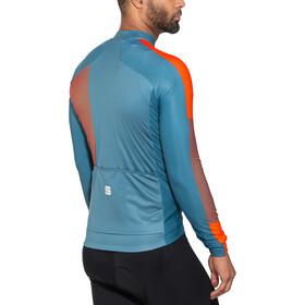 Sportful Bodyfit Pro Thermal Jersey Men blue stellar/red fluo